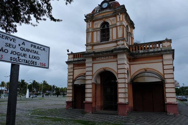 Die alte Markthalle von Paranagua