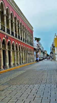 Die Koloniale Altstadt  von Campeche.