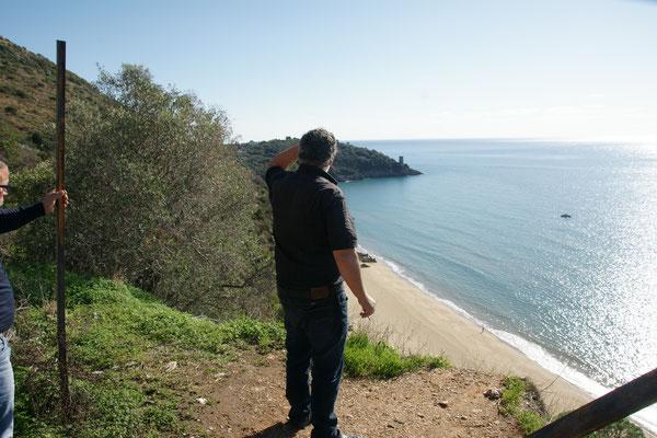 Entlang der Steilküste nach Neapel