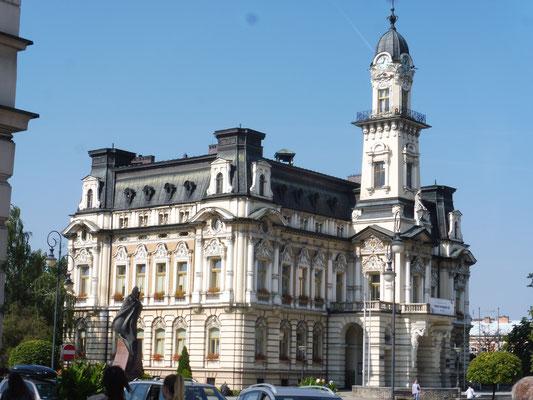 Das Rathaus von Nowy Sacz
