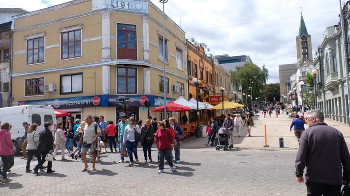 Sonntag in der Stadt Valdivia...