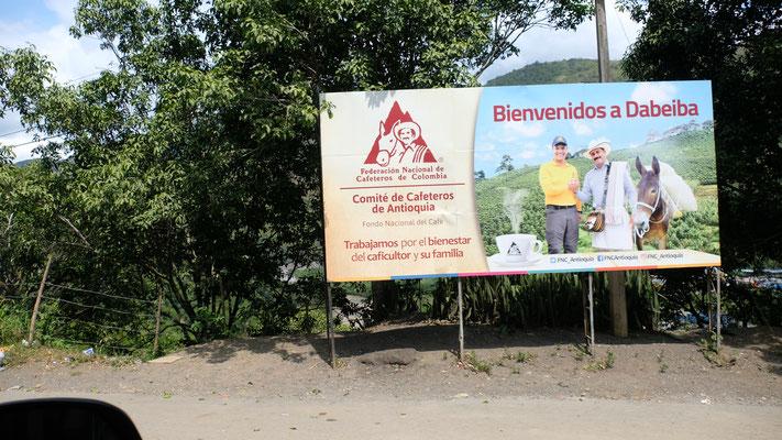 Kaffeplantagen überall