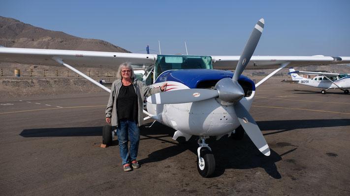 So klein und schon ein Flugzeug