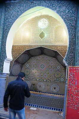 Brunnen vor dem Eingang zur Mosche