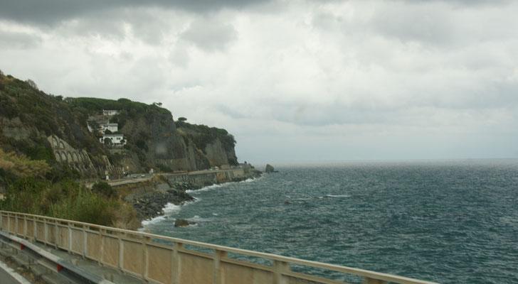 An der italienischen Riviera
