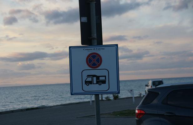 Solche Schilder kennen wir eher von Spanien und Portugal.