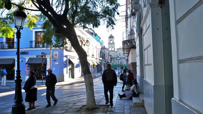 Das Zentrum von Tarija, das wir uns morgen ansehen werden.