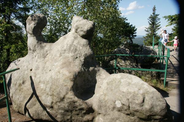 Das Felsenlabyrinth