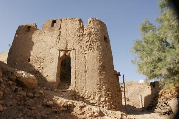Der ehemalige Wachtturm