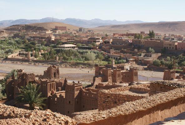 Sicht vom Agadir in luftiger Höhe