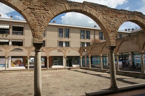 Ein römisches Bad inmitten von Fano