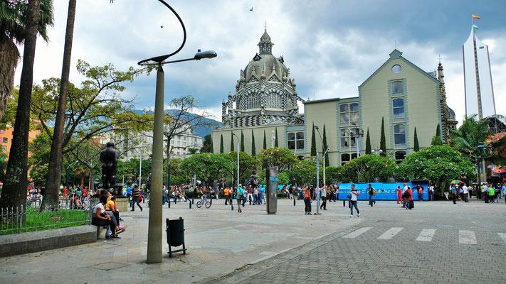 Das Zentrum von Medellin...
