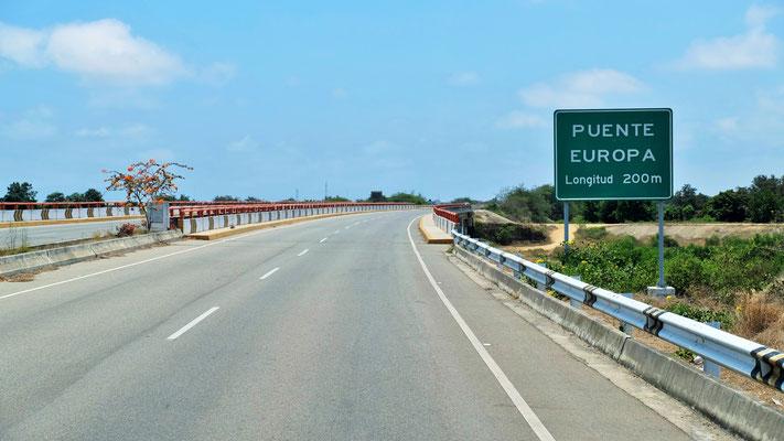 Die letzte Brücke vor der Grenze