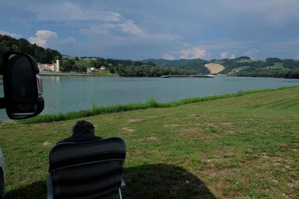 An der Donau nahe Amstetten