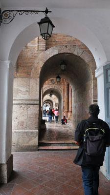 Auch schöne Arkaden im historischen Zentrum