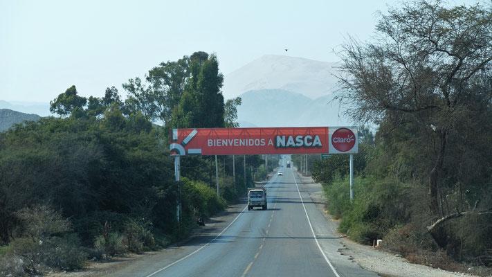 Wieder zurück in Nazca