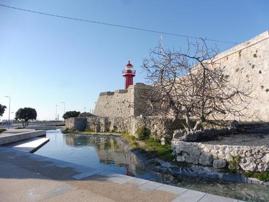 Das Fort von Figueira da Foz