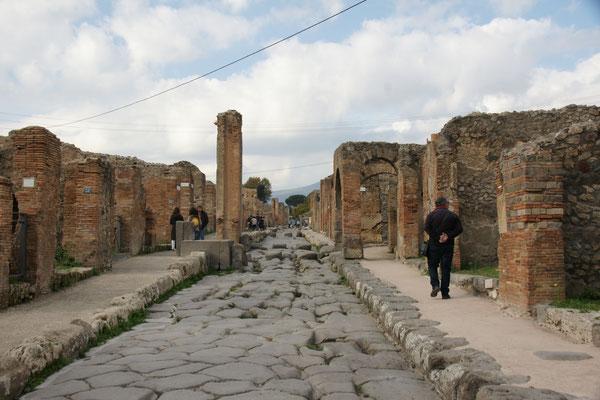 ....durchforsten wir das Antike Pompei