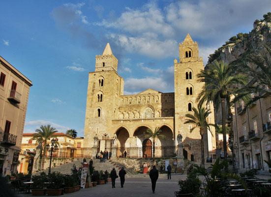 Die Kathedrale von Cefalu