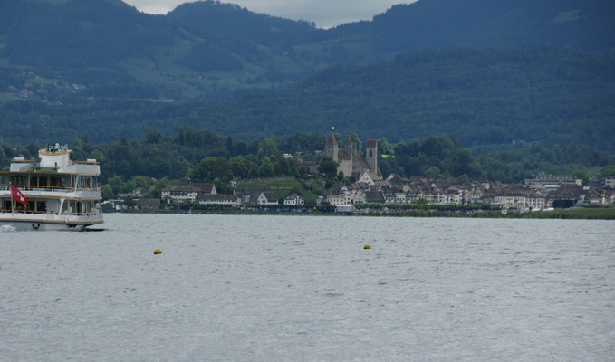 Blick Richtung Rapperswil