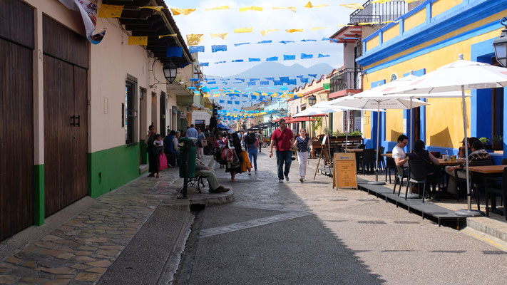 Fussgängerzone in San Cristobal