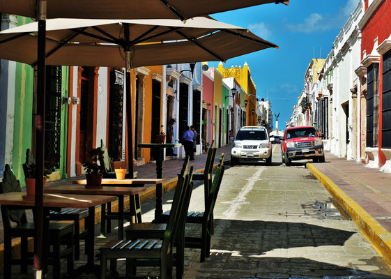 So funktioniert Verkehrsberuhigung in Campeche