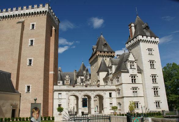 Das Schloss in Pau