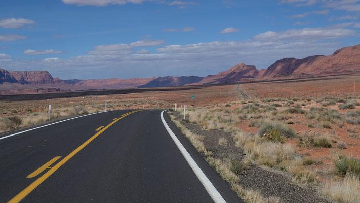 ...und schon sind wir am Grunde des Glen Canyon....