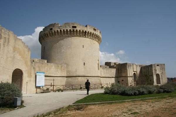 Das Castello von Matera