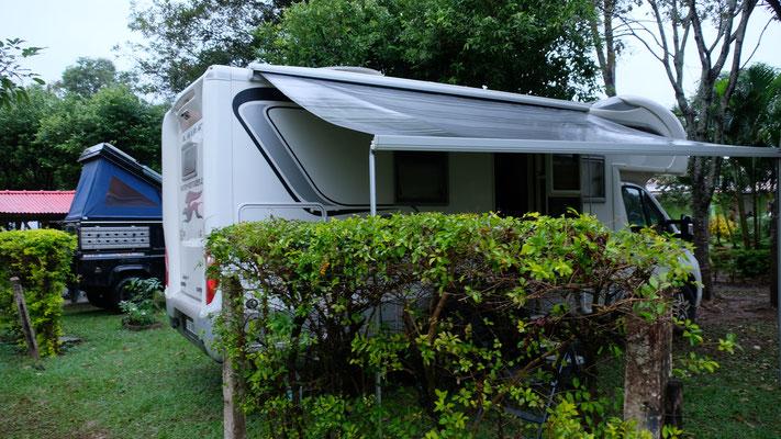 Der Campingplatz in Bonito