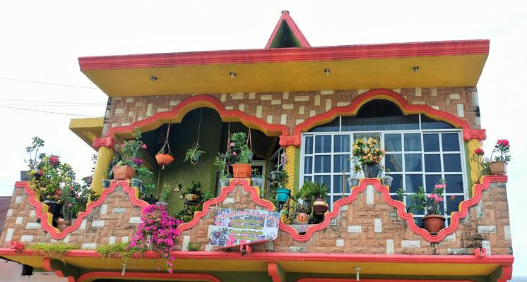 Hier werden Blumen verkauft