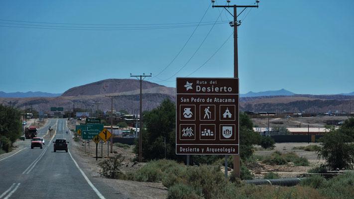 Dann aber rein nach San Pedro de Atacama
