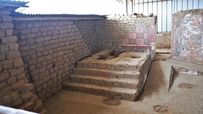 Der Altar des Priesters