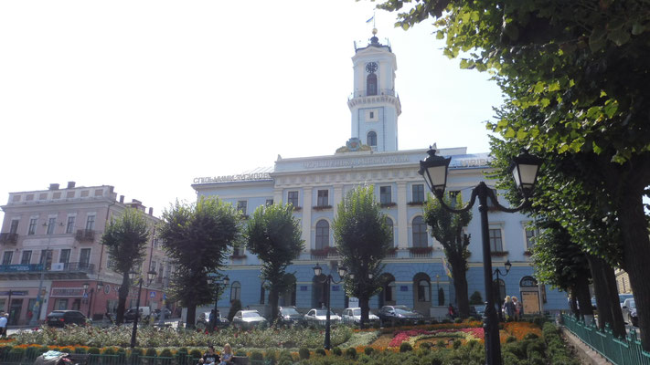 Das Rathaus von Tschernowitz