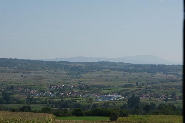 Blick über das Land
