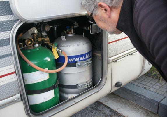 Das Gas umstellen will gelernt sein