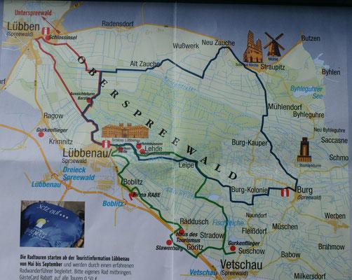 35 km Rundfahrt über Lübben