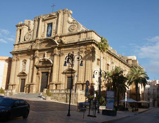 Die Basilika von Sciacca