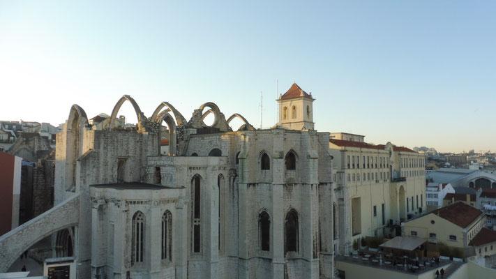 Die Ruine von Lissabon