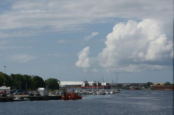 Ankunft in Pärnu
