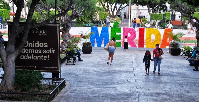 Wir sind in der Hauptstadt Yukatan's