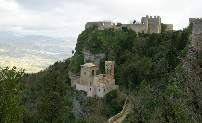 Grandiose Burgen in Erice
