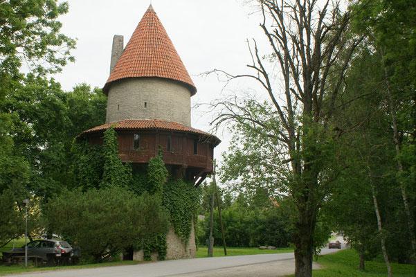 kleinster Wehrturm in Kiiu