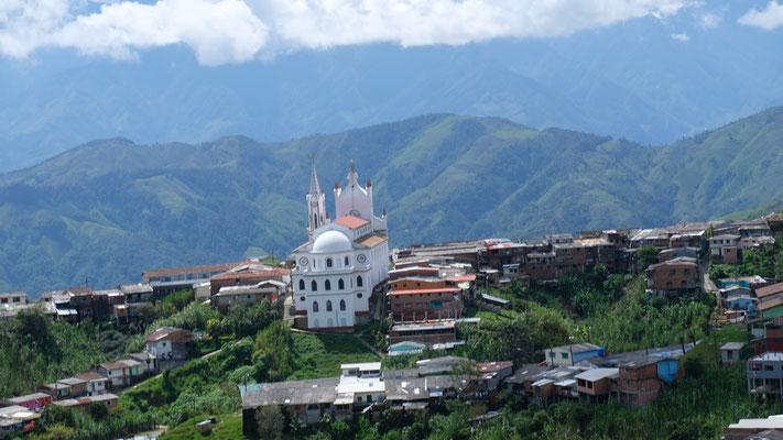 Die stolze Kirche von Narino