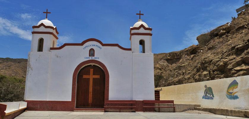 die Kirche von Cabo Blanco