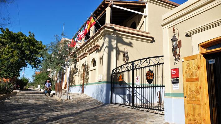 Wieder runter zum Museum vo  El Triunfo