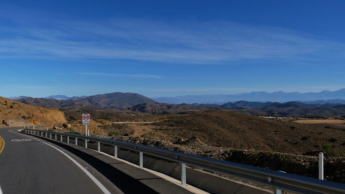 auf 2700 m Höhe Sonne und Panorama