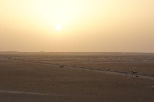 unendliche Weite auch auf der Halbinsel Dakhla