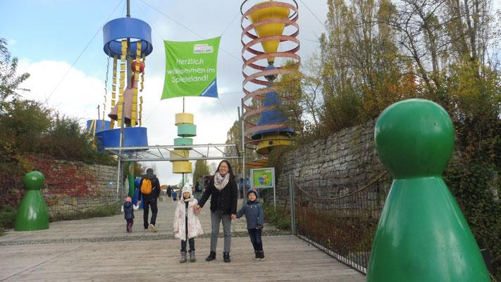Willkommen im Ravensburger Spieleland