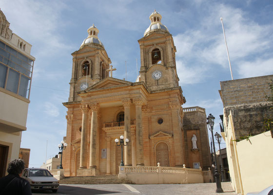 Die Kirche von Dingli